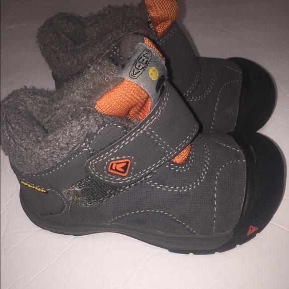 Toddler Kids Keen Kootenay Gray Boots